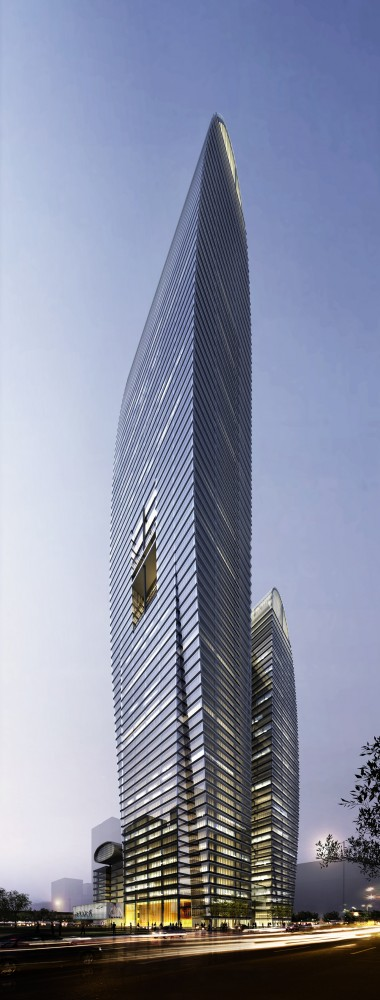 Greenland Zhengzhou Towers / Brininstool, Kerwin, + Lynch