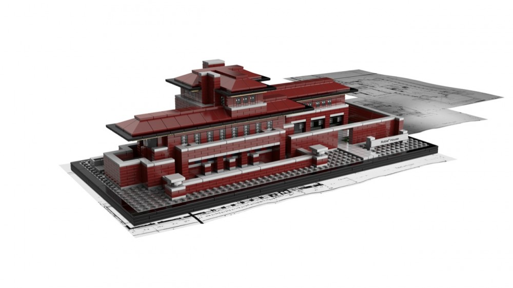 And the newest addition to LEGO Architecture is…Frank Lloyd Wright's Robie House