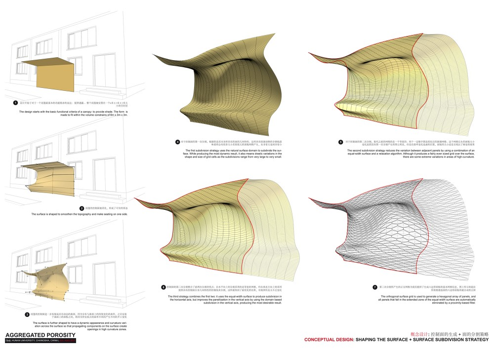 DAL Canopy Design / Digital Architectural Lab