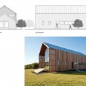 Barndominium / LoJo South & East Elevations