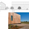 Barndominium / LoJo North & West Elevations