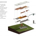 Bluff House / Bruns Architecture (15) Exploded Axonometric