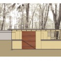 Bluff House / Bruns Architecture (14) Building Section