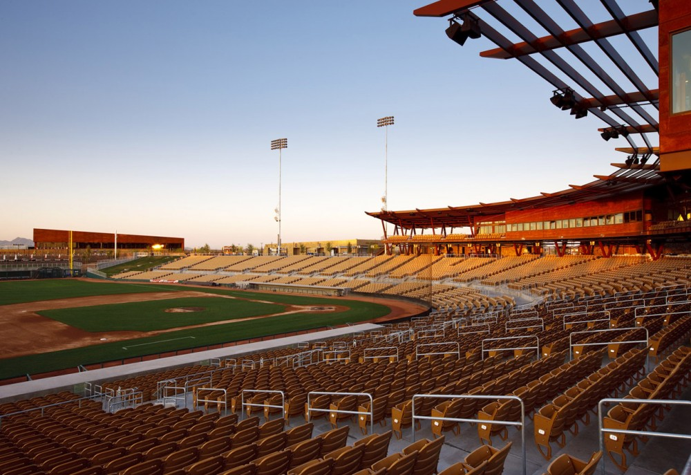 Camelback Ranch Spring Training Facility / HKS