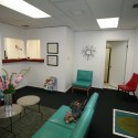 Dr. Keith Gibson DDS Clinic Renovation / Fitzsimmons Architects old lobby / © Joseph Mills Photography