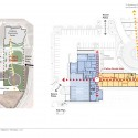 Windsor Police Department / Roth Sheppard Architects (8) Plaza Plan + Site Plan