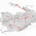 Rocinha Urban Strategy (11) effected spaces diagram /  Kyle Beneventi