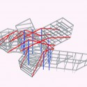 New Taipei City Museum of Art Proposal (22) structural frame diagram