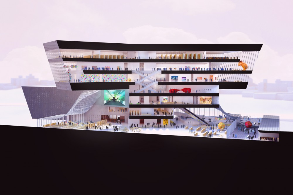 New Taipei City Museum of Art Proposal / Lyons