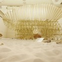 Theo Jansen Exhibition: The Beach Animal That Eats Wind / Theo Jansen with Earthscape (40)  Shin Suzuki
