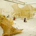 Theo Jansen Exhibition: The Beach Animal That Eats Wind / Theo Jansen with Earthscape (27)  Earthscape/Yusuke Komatsu