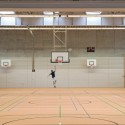 Research & Sports Hall of Humboldt University / Scheidt Kasprusch Architekten (4) © Rainer Gollmer