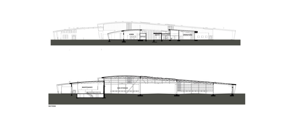 Transpo's Emil 'Lucky' Reznik Administration, Maintenance & Operations Facility / RNL Design