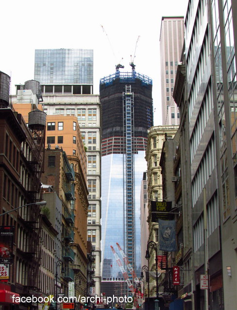 In Progress: One World Trade Center / SOM