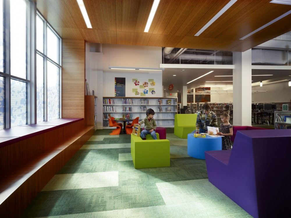 Carnegie Library of Pittsburgh – East Liberty Branch Addition and Renovation / EDGE Studio