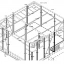 Casa Sasso / 57Studio (31) Partial Framing Plan