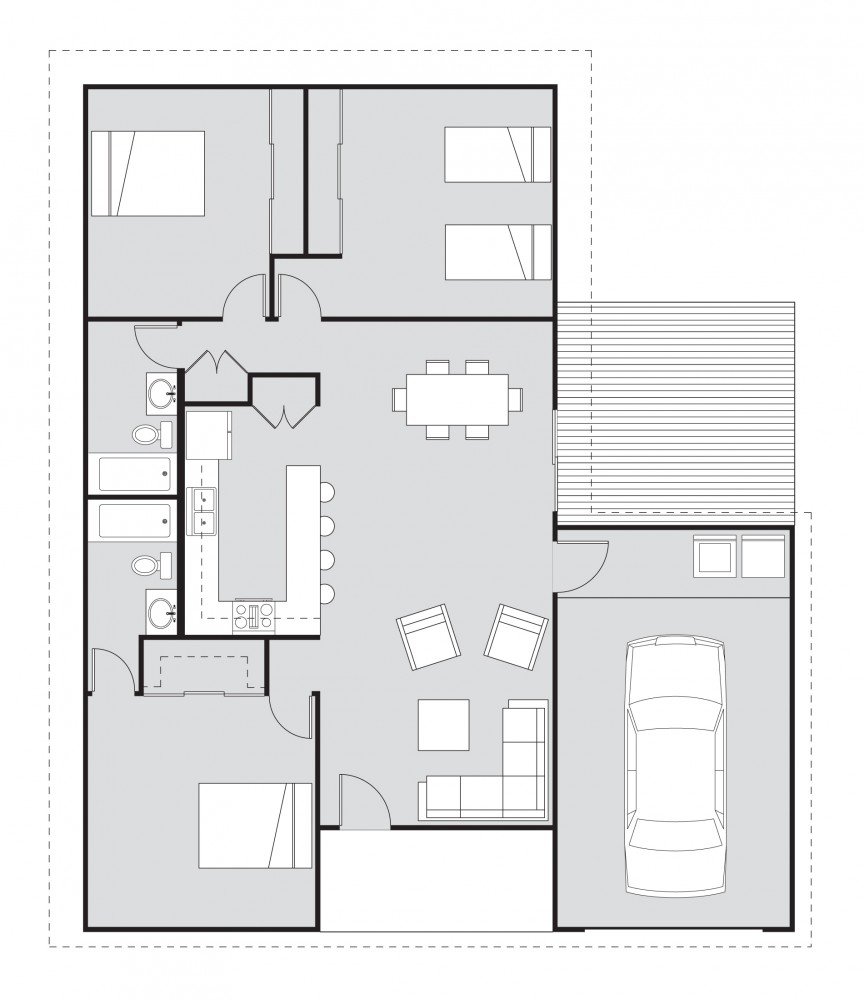 Free home plans habitat for humanity and houseplans for Austin house plans