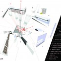 DAM Shop / Roth Sheppard Architects (1) Exploded Axonometric
