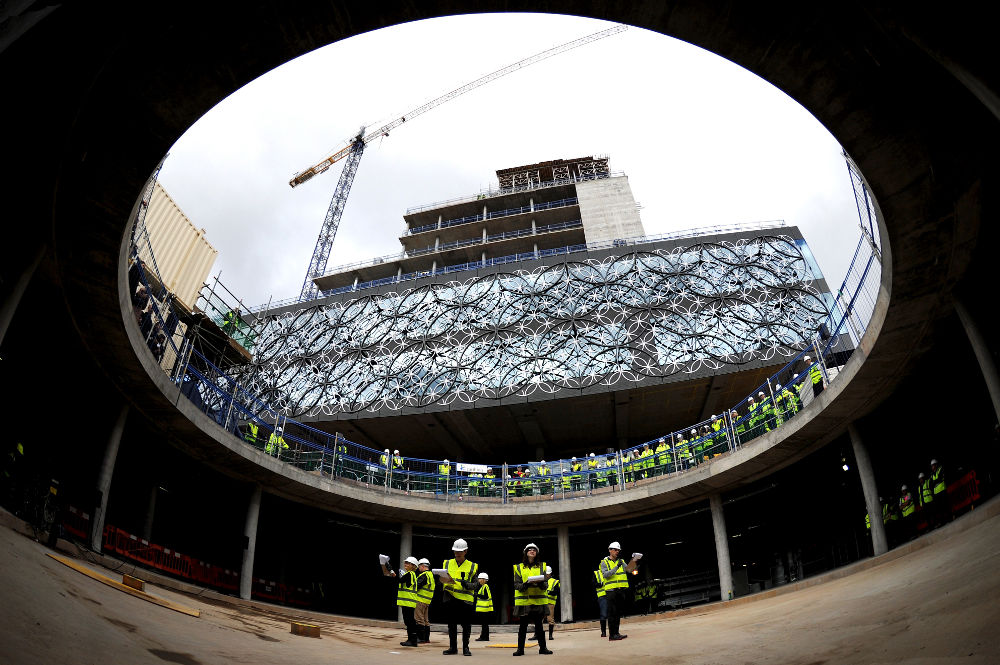 In Progress: Library of Birmingham / Mecanoo architecten