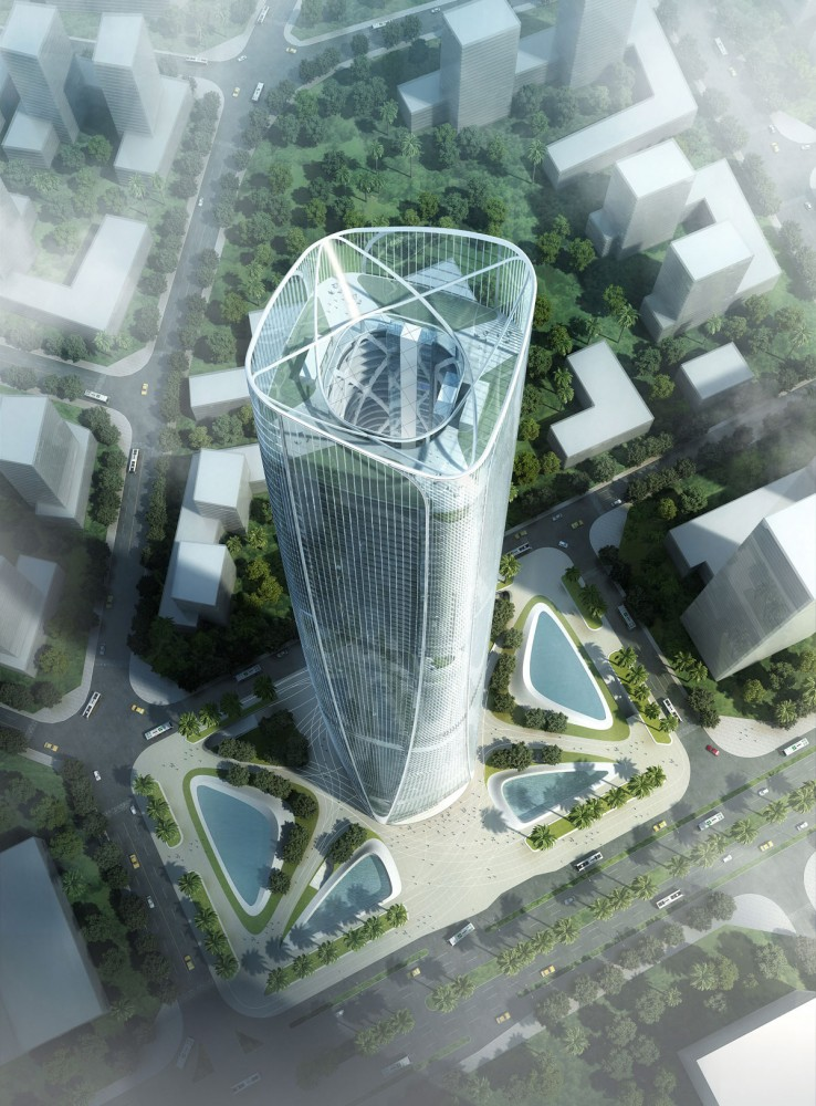 Haikou Tower Competition Winner / HENN