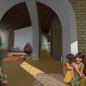 Young Architects Create 'Adobe for Women Association'  (11) Courtesy of blaanc borderless architecture & CaeiroCapurso