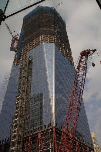 Construction at 1 WTC, by ShinyThings VIA Flickr