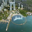 Suzhou Industrial Park Central Business District / SWA Group (5) Courtesy of  SWA Group