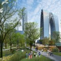 Suzhou Industrial Park Central Business District / SWA Group (3) Courtesy of  SWA Group