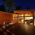 Higgins Lake House / Jeff Jordan Architects  (14) © Jeff Garland Photography