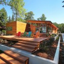 Higgins Lake House / Jeff Jordan Architects  (11) © Jeff Garland Photography