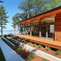 Higgins Lake House / Jeff Jordan Architects  (6) © Jeff Garland Photography