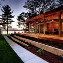 Higgins Lake House / Jeff Jordan Architects  (4) © Jeff Garland Photography