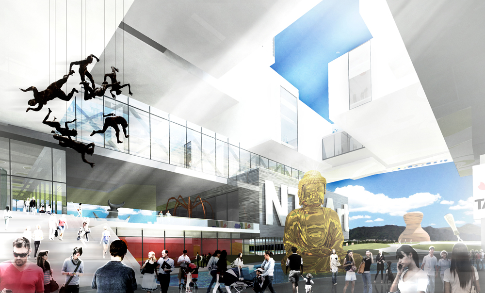 New Taipei City Museum of Art Proposal / Zerafa Architecture Studio