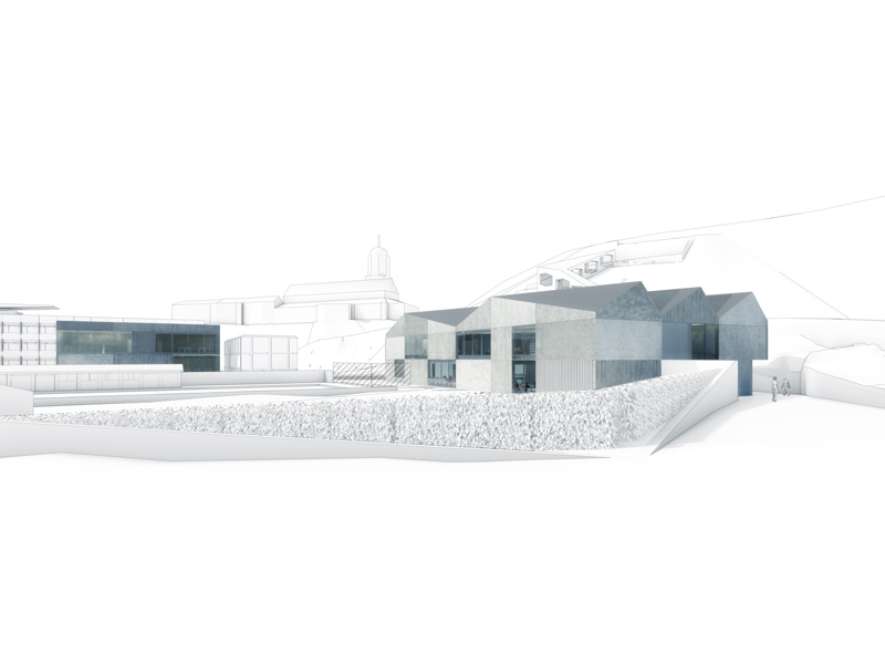 Canton School Chur Proposal / Marc Anton Dahmen &#038; Studio DMTW