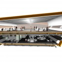 TAG Farnborough Airport / 3D Reid Architects (21) Section Render