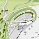 TAG Farnborough Airport / 3D Reid Architects (14) Site Plan