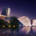 Kunshan Huaqiao Forum and Hotel  (11) Courtesy of Ojanen_Chiou Architects