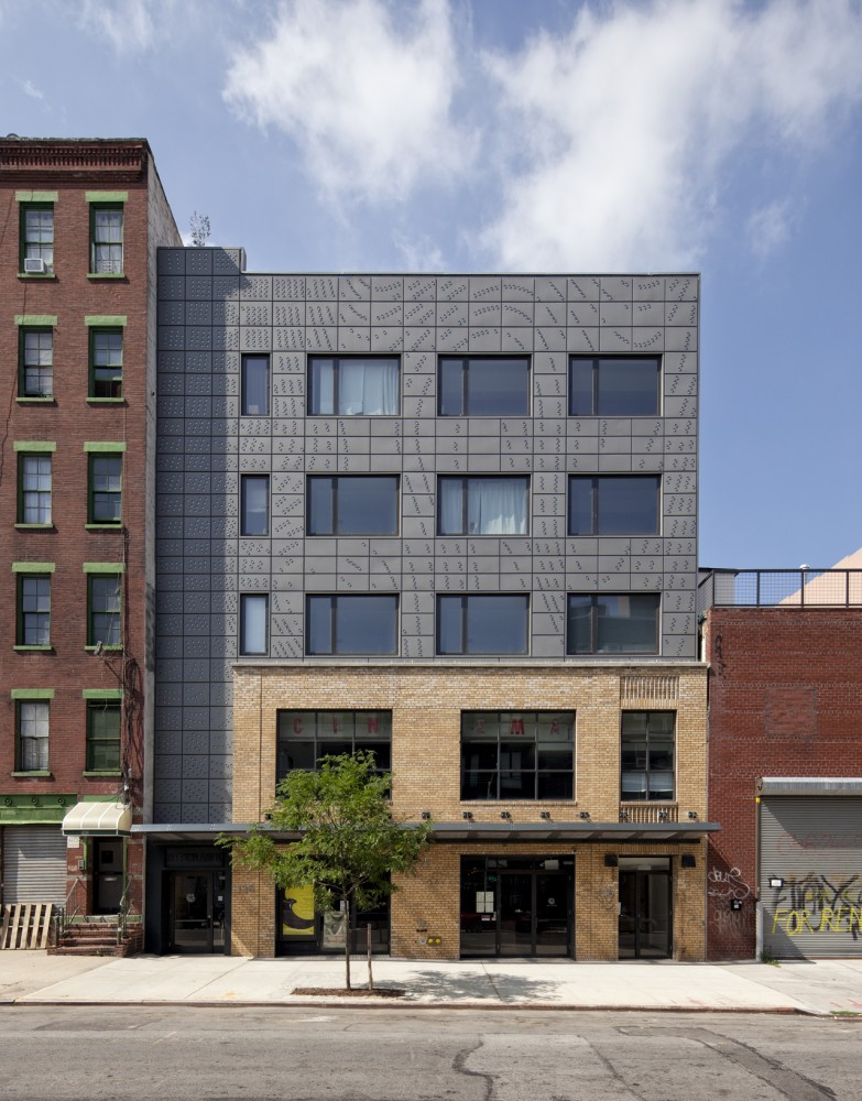 Nitehawk Cinema and Apartments / Caliper Studio