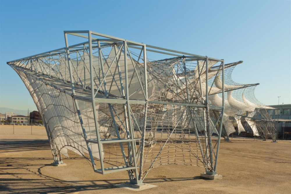 Netscape: SCI-Arc Graduation Pavilion 2011 / Oyler Wu Collaborative with SCI-Arc