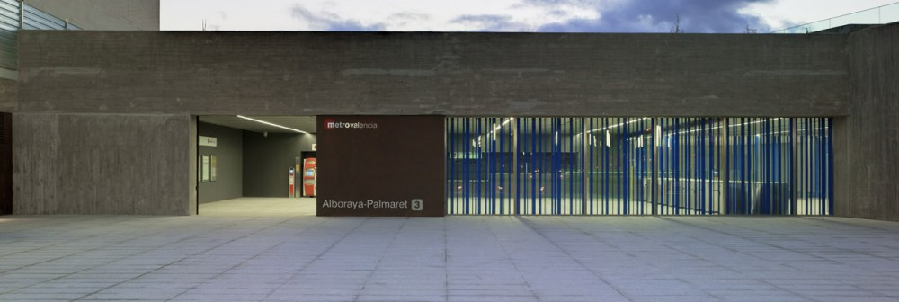 Palmaret-Alboraya Train Station / Rstudio