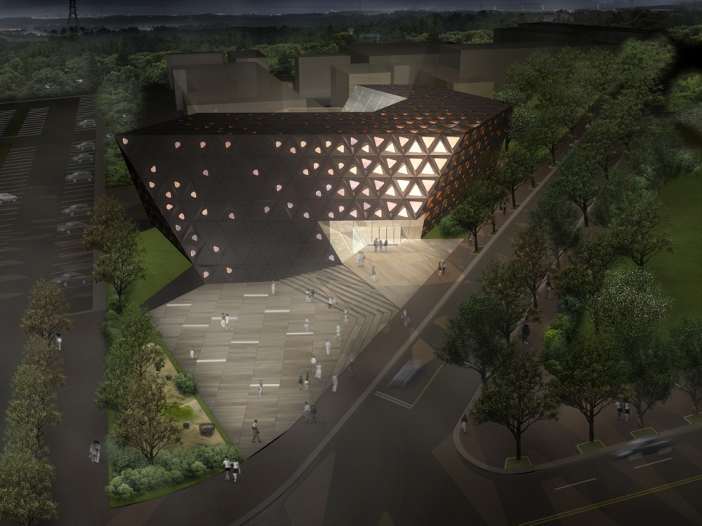 Jeju University Cultural Heritage Center / poly.m.ur