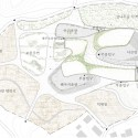 Jeju World Natural Heritage Center / poly.m.ur (8) Site Plan