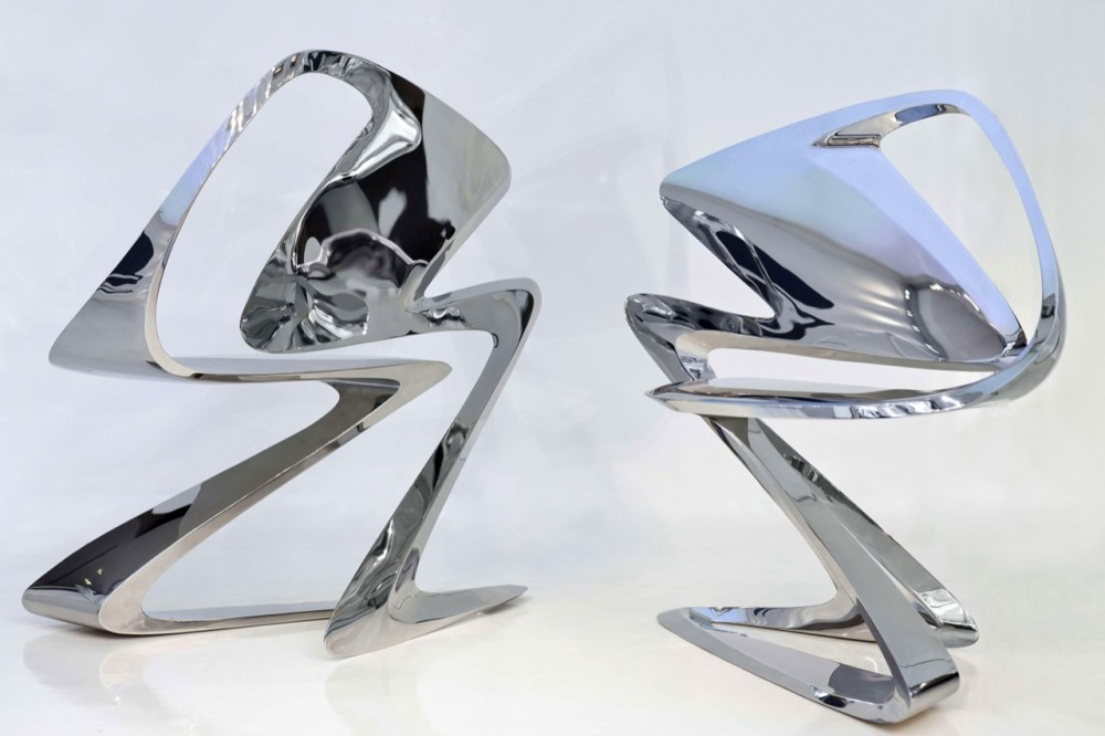 Zaha Hadid: Form in Motion Exhibit at the Philadelphia Museum of Art