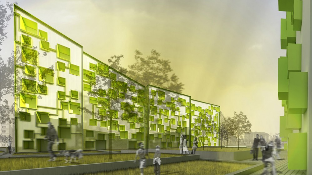 Sustainable Residential Complex / Morfearch