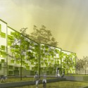 Sustainable Residential Complex (3) Courtesy of Morfearch
