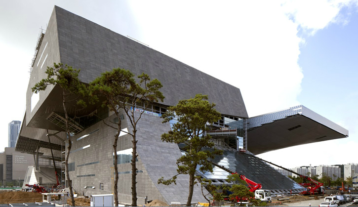 Busan Cinema Center Nearing Completion