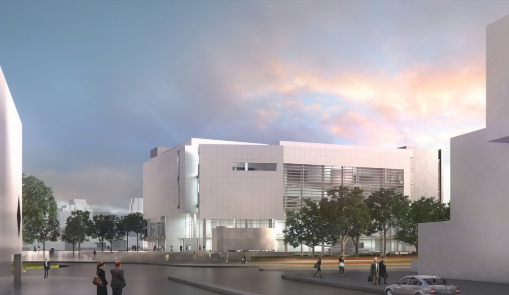 Richard Meier & Partners Design for the New Royal Alberta Museum