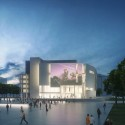 Richard Meier & Partners Submission for the New Royal Alberta Museum (2) Courtesy of Richard Meier & Partners Architects