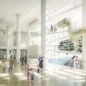 Richard Meier & Partners Submission for the New Royal Alberta Museum (3) Courtesy of Richard Meier & Partners Architects