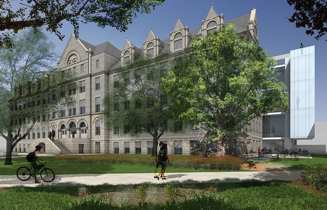Richardson Memorial Hall Green Renovation Plans